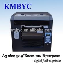 a3 size digital flatbed multipurpose printer to print on tile
