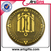 China factory supply cheap aluminum souvenir coin high quality
