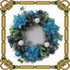 /product-gs/pormotional-artificial-pine-needle-wreath-xmas-decoration-60141620456.html