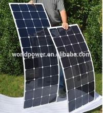 High Quality Flexible Solar Panel 60W 100W 120W With Sunpower Cells