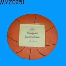 Decorative Unique Resin Basketball Picture Photo Frame