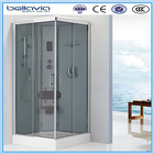 folding shower seat and computer control sex glass door shower room 8522D