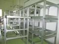 la serie completa de aluminio extruido perfil del marco para la cocina