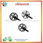 China cheap road bike chainwheel/carbon bicycle crank/carbon bicycle crankset