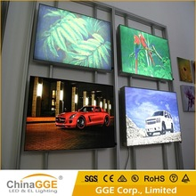 Outdoor Aluminum LED Frameless Fabric Advertising Display Light Box