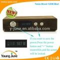 2015 más de gran alcance y funcional MOSFET de madera 120 W caja mod 18650 de la batería 120 watt caja mod ecig bueno de adn 30