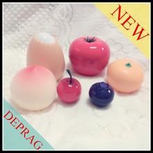 2015 new luxury fruit shape 30g cosmetic creams packaging