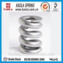 large diameter railway coil spring
