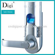 Biometric Fingerprint Lock Electronic Keypad Keyless Door Handle Access Control