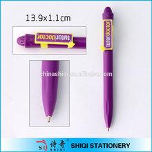 wholesale customizable logo OEM open mould clip pen