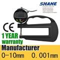 0-10mm 0.01mm de alta precisión digital medidor de espesor de espesor gauge5331-10