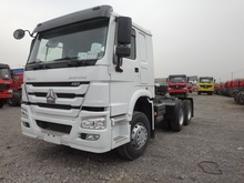 SINOTRUK HOWO WD615 371hp 6x4 tractor truck and trailer