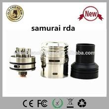 OFK hot selling newest product electronic cigarete rda atomizer samurai atomizer