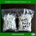 Químicos para uso en hospitales, dióxido de cloro de alta calidad