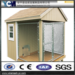 alibaba supplier high quality chain link cheap kennels for dogs