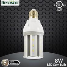 8W led light corn bulbs packing lot LED corn cob warehouse lighting street lighting