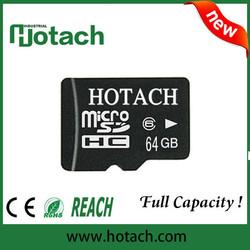 OEM real capacity wholesale 64gb micro sd memory card