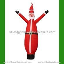 Guangzhou China latest hotsale inflatable Santa Claus air dancer