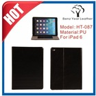 2015 Hot New High Quality Flip Cover cases for i Pad 6 from China Supplier