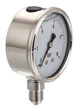 All stainless steel pressure gauge as pressure test tool