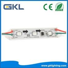 3pcs smd5050 led module rgb ws2801 led module waterproof 12V
