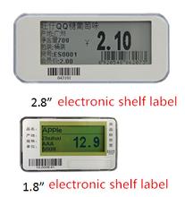 Long transmission distance ESLs waterproof dot matrix display electronic shelf labels