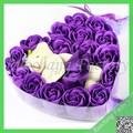 Main rose fleur de savon, Savon à la glycérine base