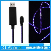 light up usb charging charger cable for iphone