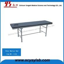 Hospital furniture portable Stainless Steel frame Full body Hospital Massage Table