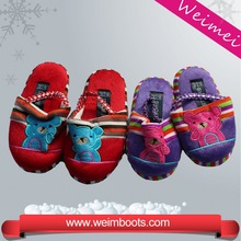 High quality fashion best selling winter warming lady slipper