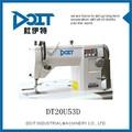 Dt20u53d eletrônico ziguezague máquina de costura industrial zig - zag máquina de costura ponto fixo
