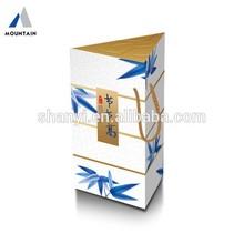 Bamboo Leaf Paper Prism Box