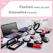 Eyeshadow set for oem service lady cosmetics eyeshadow pink eye brow brush