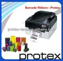 paper for wine label Used For Black Resin Ribbon for Desktop Barcode Printer