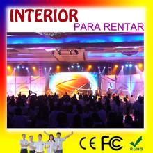 Sunrise indoor stage background decoration, p3p4p5p6 indoor rental led display