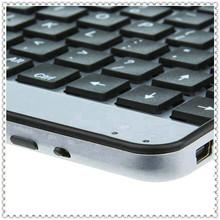 Hotsale Aluminum Bluetooth Black Keyboard for Samsung