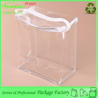 Transparent pvc blanket bag / plastic quilt bag / bedding packaging bag