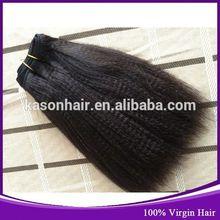 Virgin Remy Brazilian Yaki Pony Hair Braiding Hair Braids