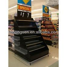 Supermarket rack display/Goods rack display/Retail rack shelves