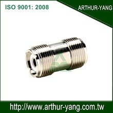 UHF female to female coaxial RF connector