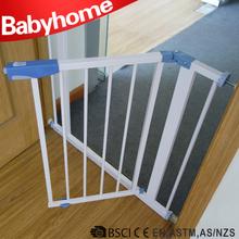 Folding dog pet infant metal safety gate