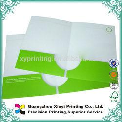 Office A4 document presentation folder handmade cardboard file paper folder