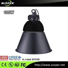 LED Industrial UL DLC listed (UL NO. E473192)100W IP65 Low Bay Light