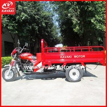 Three wheel motorcycle/double water cooling engine loading heavy goods Tricycle KV200ZH-B