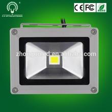 Haute luminosité coque en aluminium étanche ip65 bridgelux 10 w led lumière crue poissons