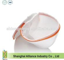 Plastic support bracket intimate nylon laundry wash bags