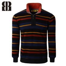 Bemme plat tricoté hiver pull hommes col montant chandail