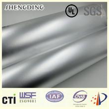 Heat resistant! Pipe insulation aluminum cladding White coated release paper Natural Plain Aluminum Foil Cladding