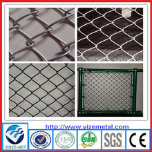 used chain link fence panels(Galvanized & PVC coated)