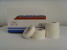 Zinc Oxide Plaster Tape,Hot Melt Adhesive,Simplified Package super adhesive